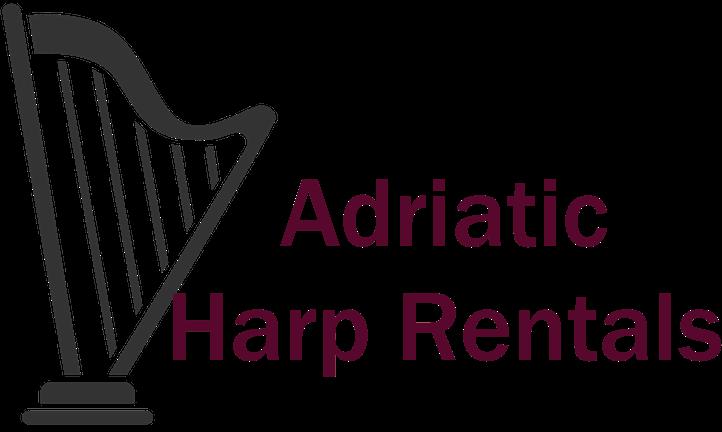 Adriatic Harp Rentals logo Standard